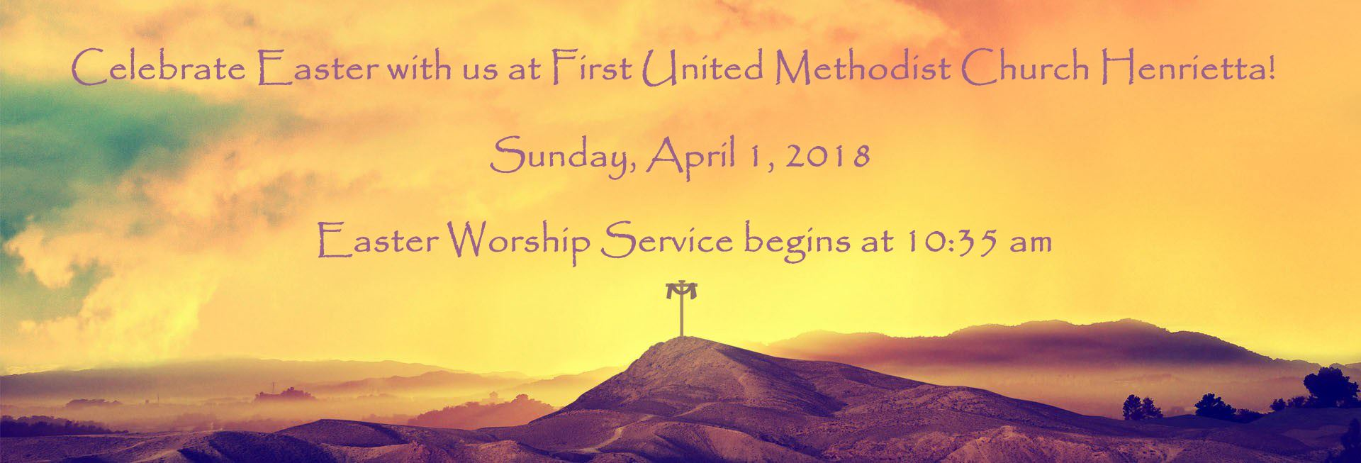 2018 Easter Sunday